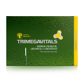 Suplemento alimentar Trimegavitals. Siberian linseed oil and omega-3 concentrate, 30 cápsulas